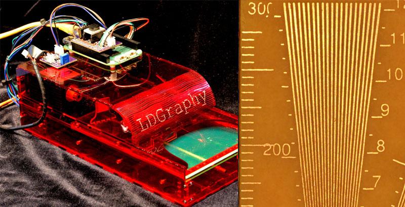 LDGraphy permite hacer placas PCB por láser