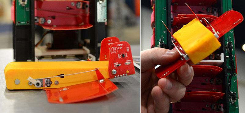 CICADA: Los microdones hechos con placas PCB y piezas impresas