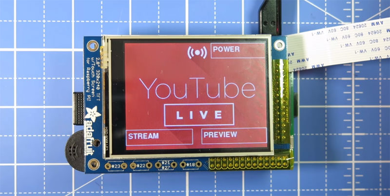 Cámara para Live Streaming en YouTube con Raspberry Pi