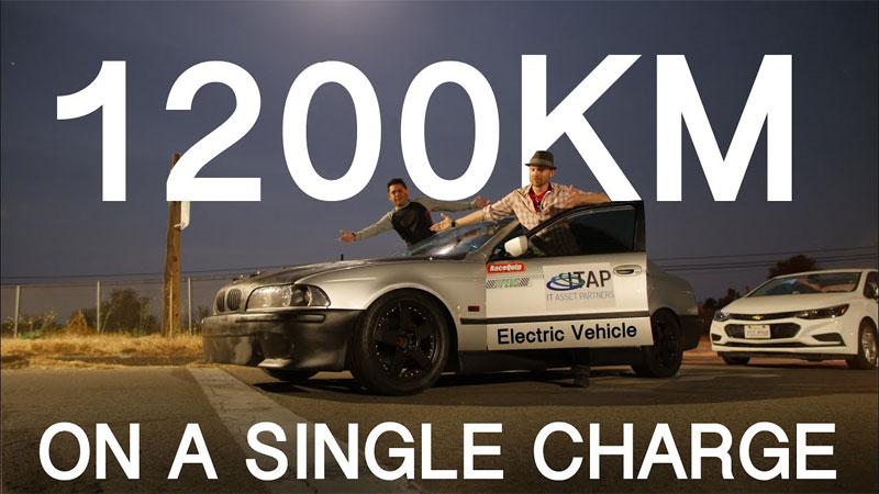 Coche eléctrico casero para batir el récord de los 1000Km de autonomía