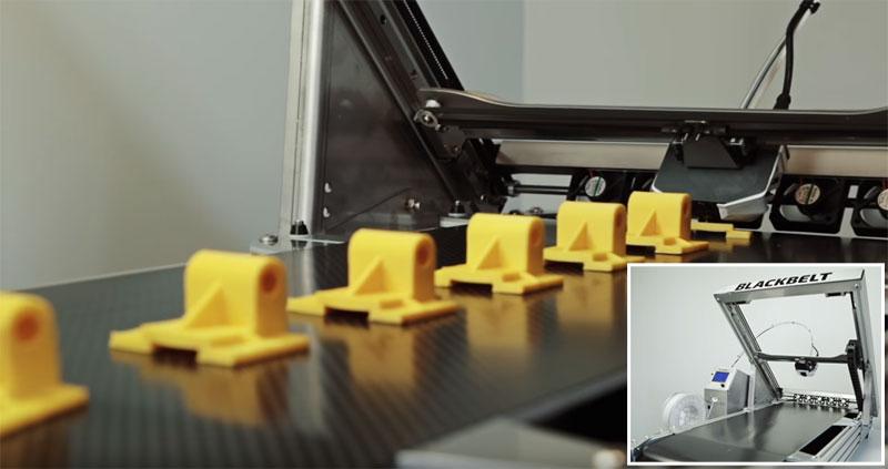 Blackbelt: La impresora 3D pensada para imprimir piezas en serie
