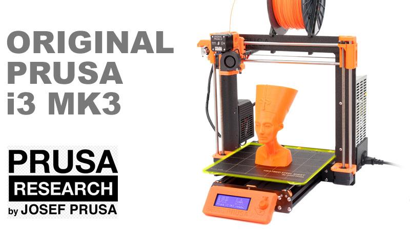 Josef Prusa lanza su nueva impresora 3D MK3 y es espectacular