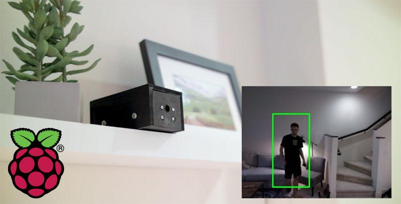 Cámara de seguridad inteligente con Raspberry Pi y OpenCV
