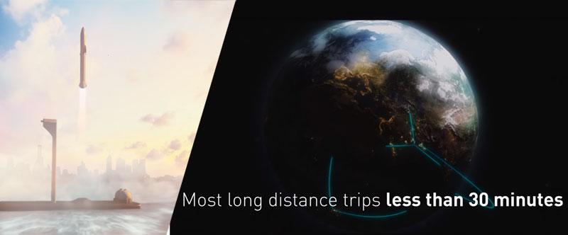 BFR: El plan de Elon Musk para viajar a cualquier ciudad del mundo en menos de 1 hora