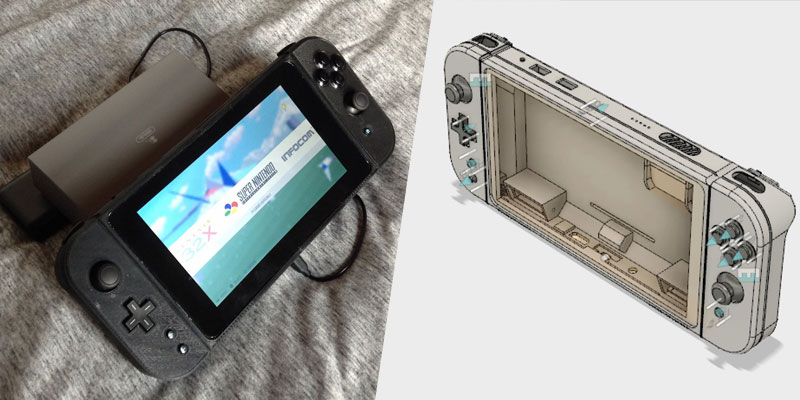Nintimdo: Una Nintendo Switch casera con Raspberry Pi