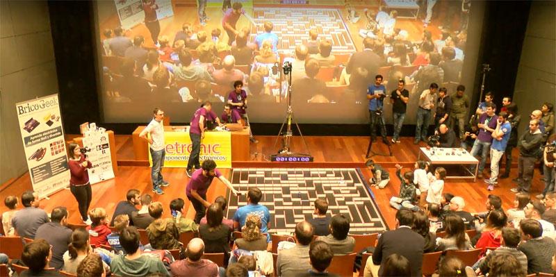 Vídeo de las competiciones de la OSHWDem 2017