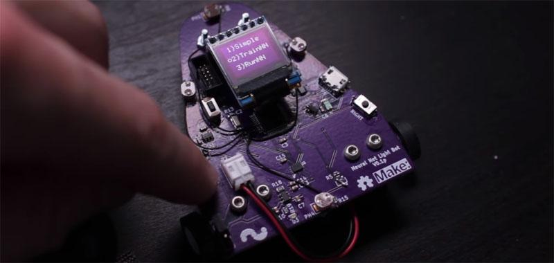 Robot basado en Arduino controlado con una red neuronal