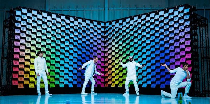 OK Go utiliza 567 impresoras de papel en su nuevo video clip