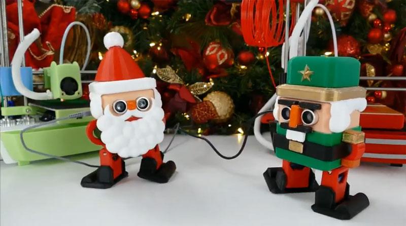 Robot OTTO DIY Santa Claus