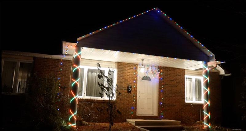 Luces de navidad animadas para tu casa con Raspberry Pi