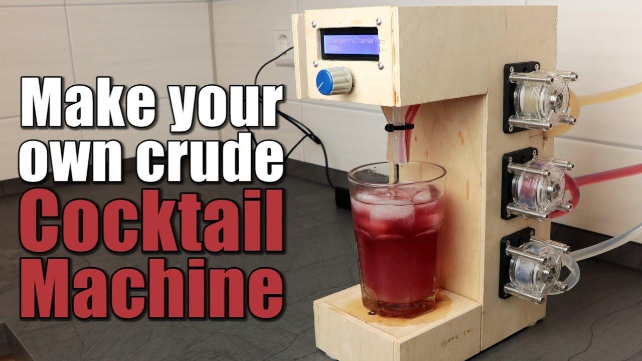 Cómo hacer una máquina de cócteles automática con Arduino