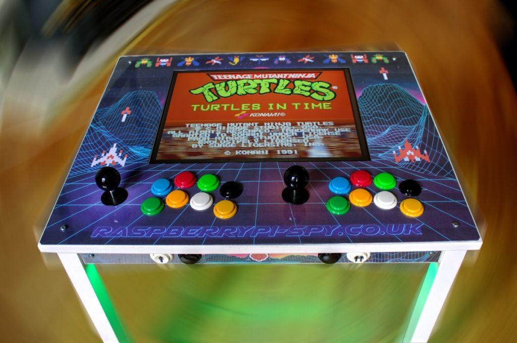 Cómo hacer una Máquina Arcade con Raspberry Pi con una mesa de IKEA