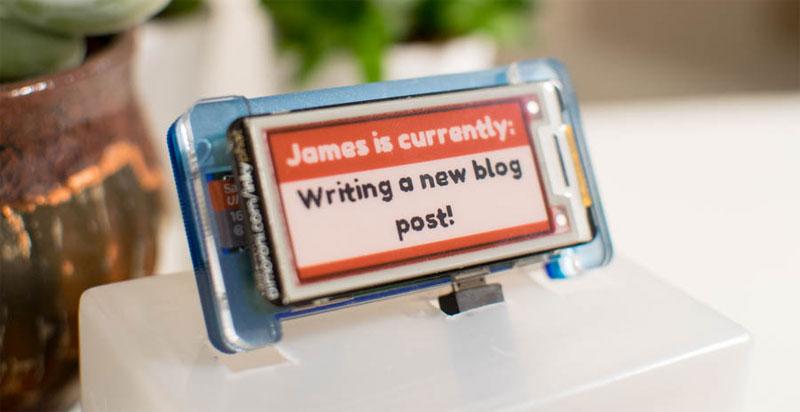 Pantalla E-Paper para mensajes con MQTT, NodeJS y Raspberry Pi