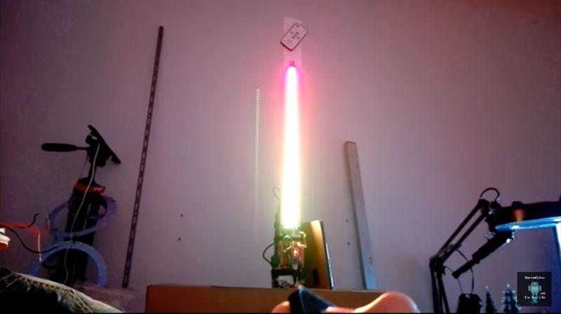 Vúmetro LED con Arduino con aspecto épico