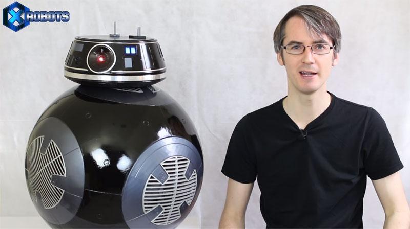 Construcción de un robot BB-9E de Star Wars impreso en 3D