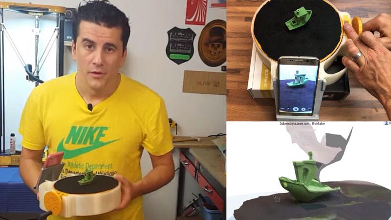 Cómo hacer un escáner 3D barato para fotogrametría