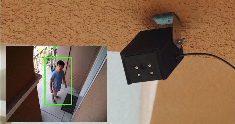 Smart Camera usando Raspberry Pi y reconocimiento de imagen con OpenCV