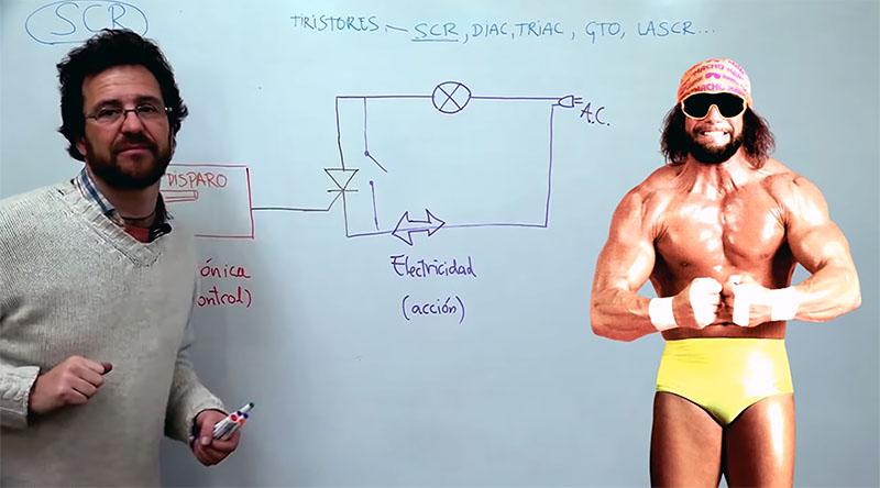 Explicación épica sobre cómo funciona un Tiristor con ejemplo práctico