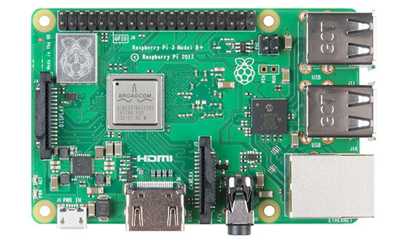 Características de la nueva Raspberry Pi 3 B+