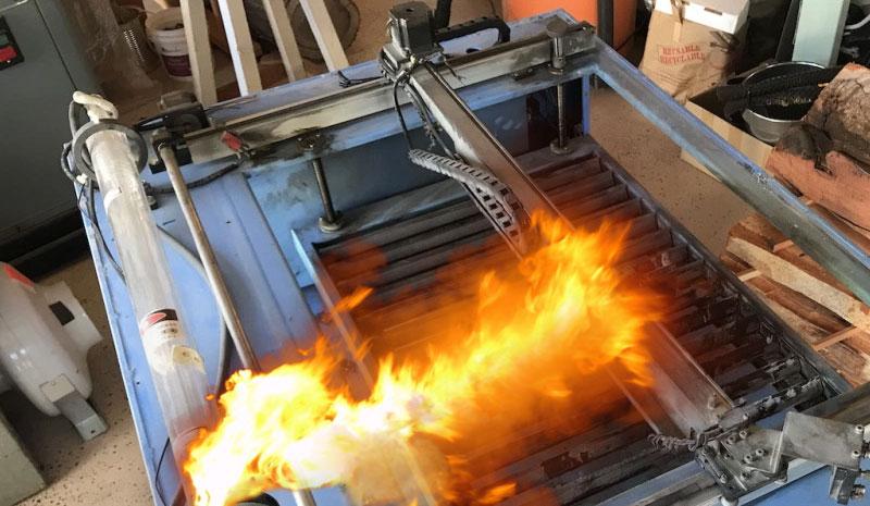 Reparación de una cortadora láser CO2 que prendío fuego
