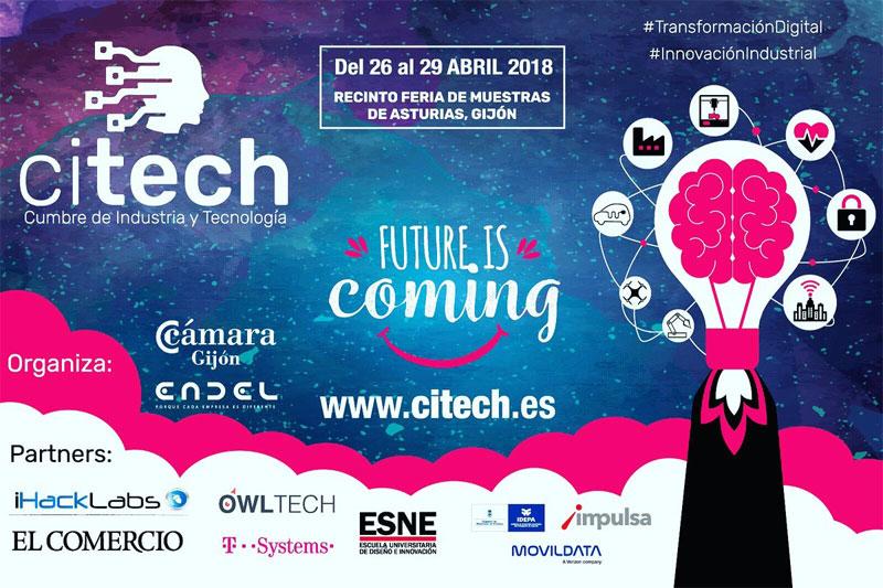Citech Gijón 2018: Cumbre de industria y tecnología