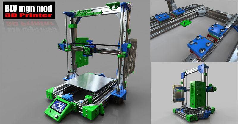Conversión y mejoras para impresora 3D Anet A8