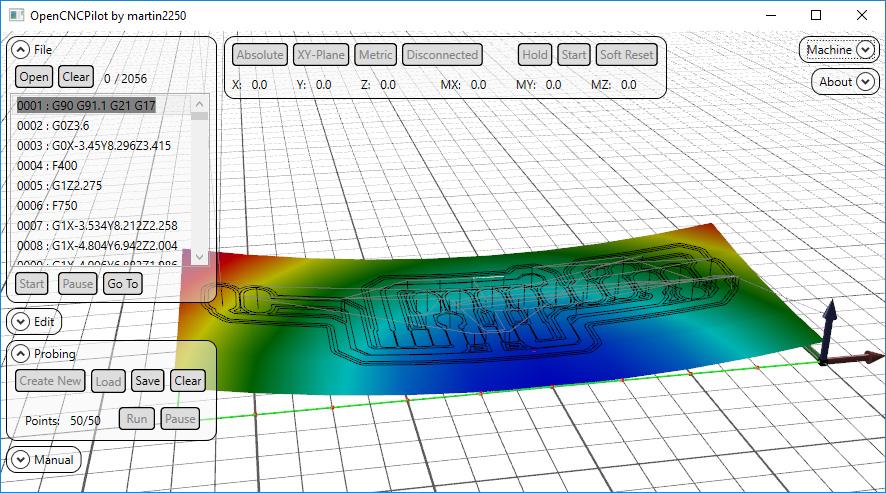 Cómo hacer placas PCB con tu CNC usando OpenCNCPilot