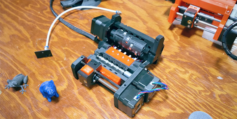 Prusa Multimaterial MK3 - Extrusor para impresoras 3D