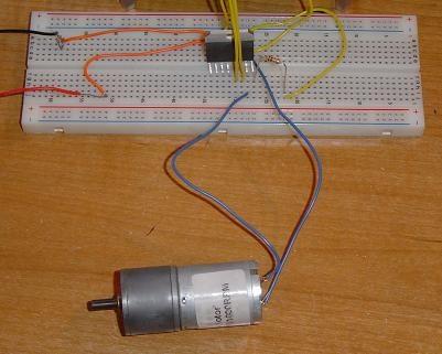 (Video) Control de motor DC con L298