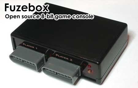 Fuzebox: La consola de 8-bit casera