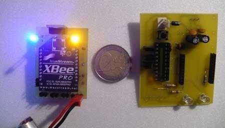 O24RCP: Receptor multicanal para RC con XBee