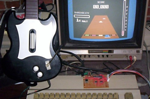 (DIY) Shredz64: Guitar Hero para Commodore 64