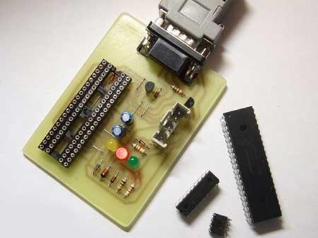 Programador de PIC y EEPROM casero