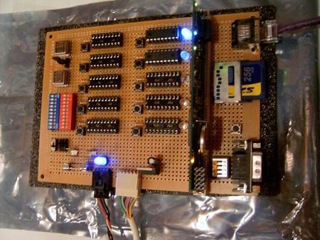 (Prototipo) Cluster con 10 dsPIC (300 MIPS!)