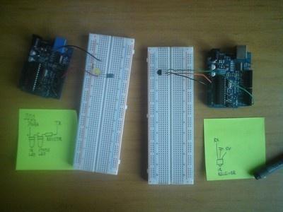 Enlace inalámbrico infrarojo con Arduino