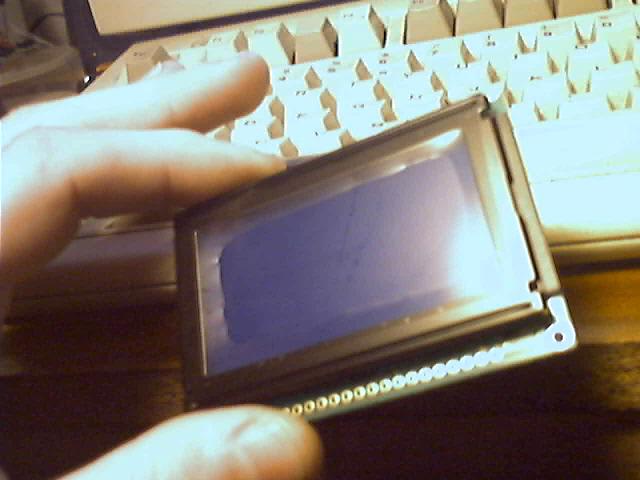 8192 píxels azules para mi solito!