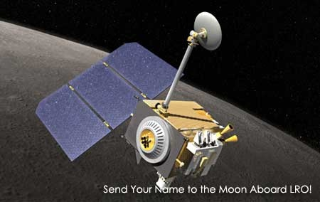 NASA: Envía tu nombre a la luna