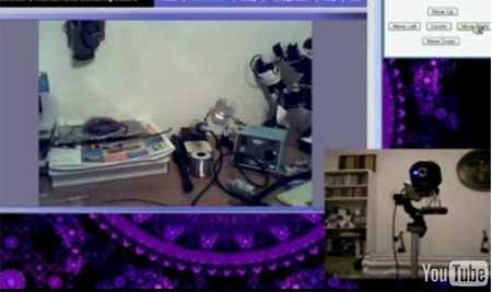 Webcam controlada por Internet con Arduino