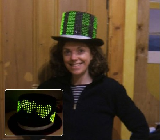 (Video) LedHat: El sombrero Geek con 400 LED\'s