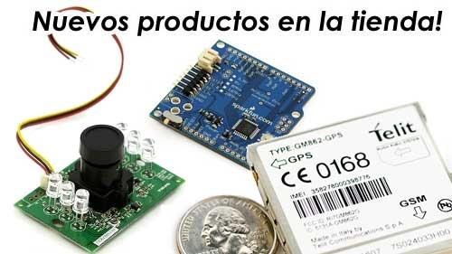 Kit Desarrollo GMS/GPS, Arduino Pro, Cámaras CMOS IR