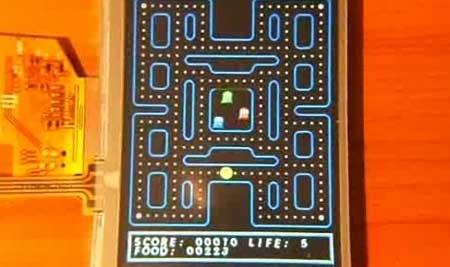 DIY: Juego Pac-Man con AVR Atmega32 y pantalla LCD