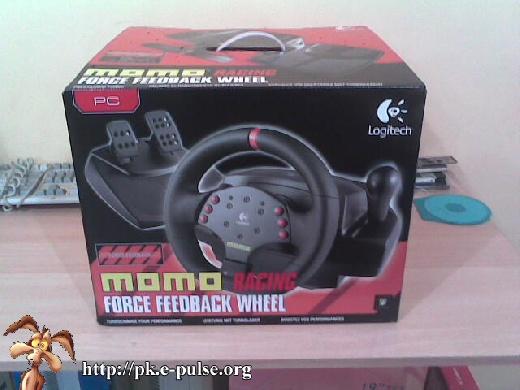 (Review) Logitech Momo Racing Force Feedback Wheel