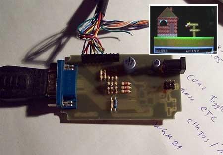 AVGA: Mario Bros en un AVR Atmega168