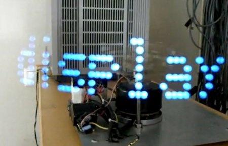 POV Display con un ventilador