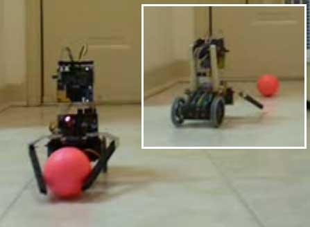 (Video) Robot sigue pelotas con camara CMUCam2