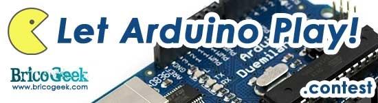 Let Arduino Play Contest! Concurso de juegos con Arduino