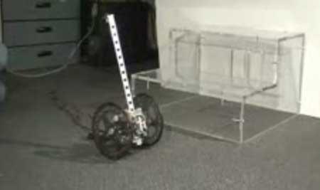 iLean: Robot por balanceo que sube escaleras