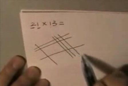 Multiplicar con papel de forma rápida