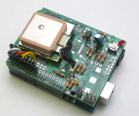 Arduino GPS logger shield KIT