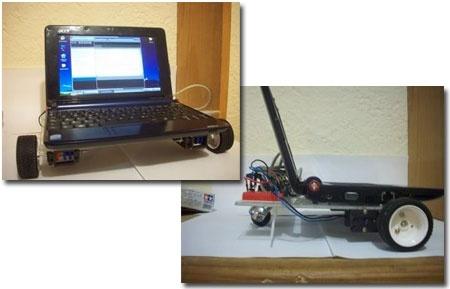 Rover AA1: Robot con Acer Aspire One y Arduino